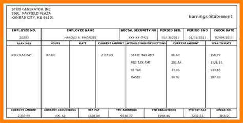 pay stubs calculator 12 payroll check stub template free samples of paystubs