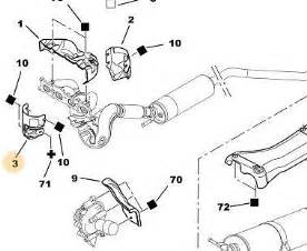 Peugeot 307 Exhaust System Diagram Manual Peugeot 307 308 407 C4 C5 2 0 Petrol Front Pipe Exhaust