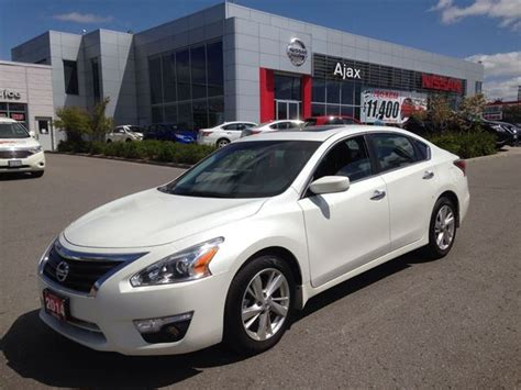 2014 Nissan Altima 2 5 Sv Navigation Sunroof Ajax