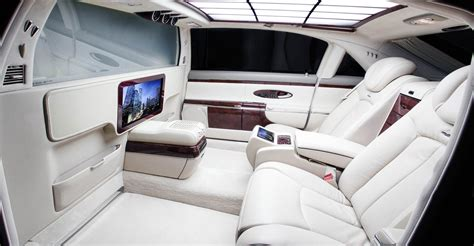 maybach luxury car interior bing images cars