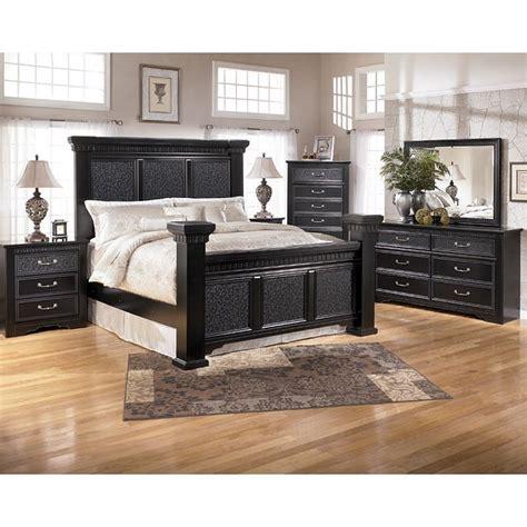 cavallino mansion bedroom set signature design  ashley