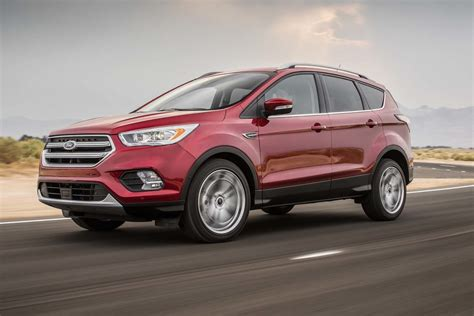 ford escape 2 5 review 2017 ford escape 2 0 ecoboost awd test review