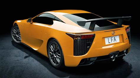 lexus lfa wallpaper yellow lexus lf a roadster hd 1366x768
