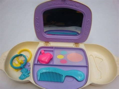 Fisher Price Makeup Vanity by I Put More Makeup On As A Child Then I Do As An