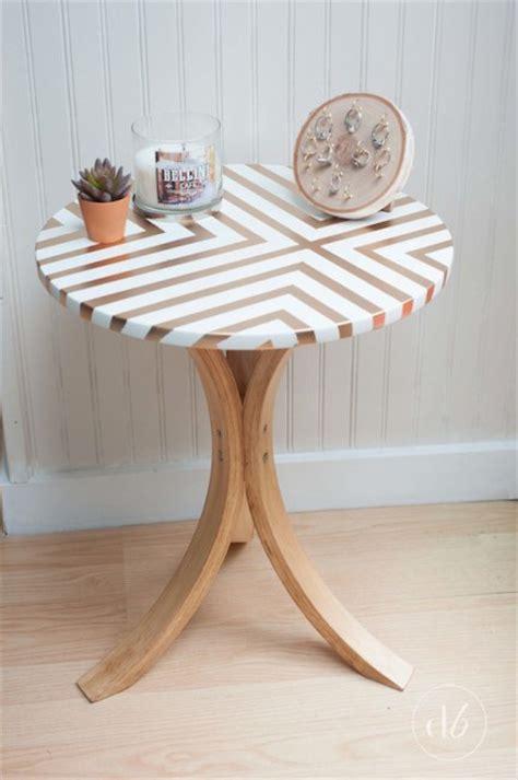ikea table diy ikea side table makeover bigdiyideas com
