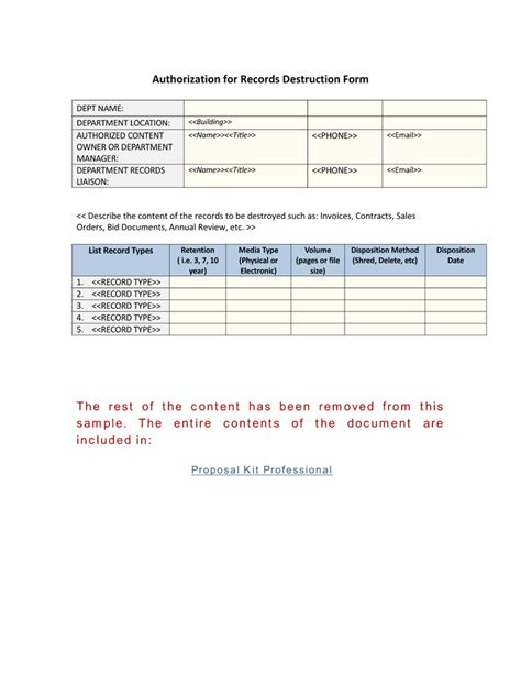 file plan template records management authorization for records form use the