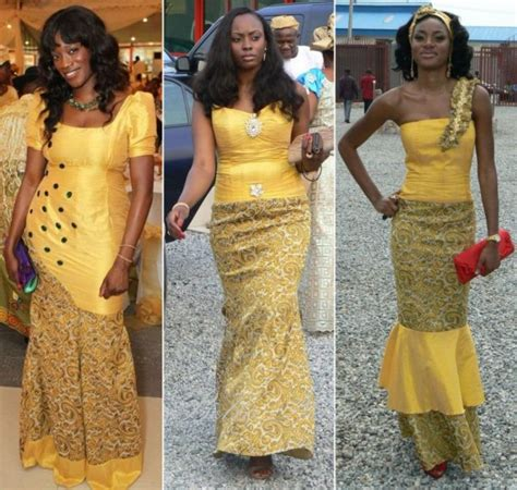 latest style in nigerian ovation bella naija latest native gown ovation