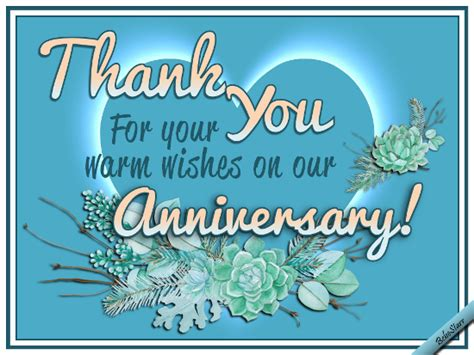 Wedding Anniversary Wishes Thank You by Warm Anniversary Wishes Free Wedding Anniversary Ecards