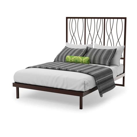bed footboard samson platform footboard bed king dinettes