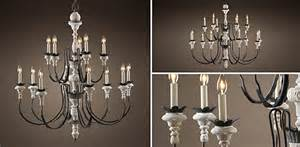 restoration hardware antler chandelier