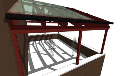 trellis roof design youtube