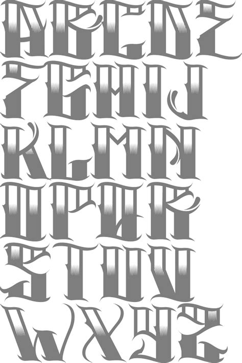 the gallery for gt cholo style lettering