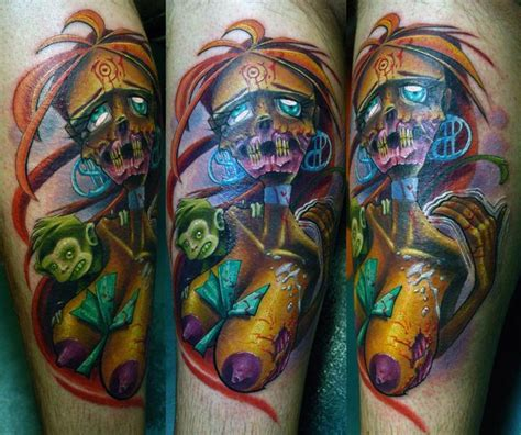 tattooed stripper z by clint leifeste tattoonow