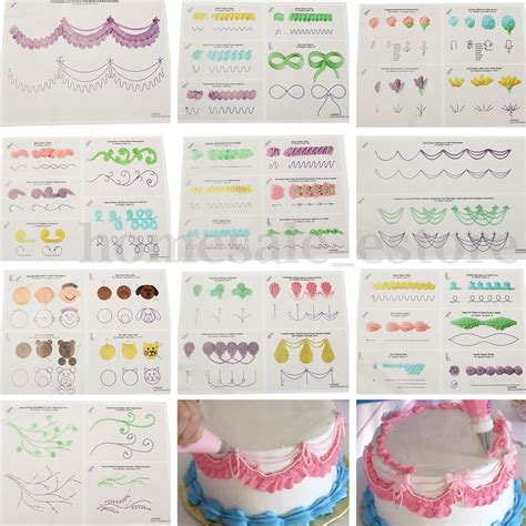printable practice sheets for cake decorating cake decorating piping templates billingsblessingbags org