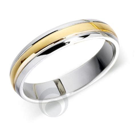 Wedding Rings With Gold by Platinum 18ct White Gold Wedding Ring Wedding Dress From