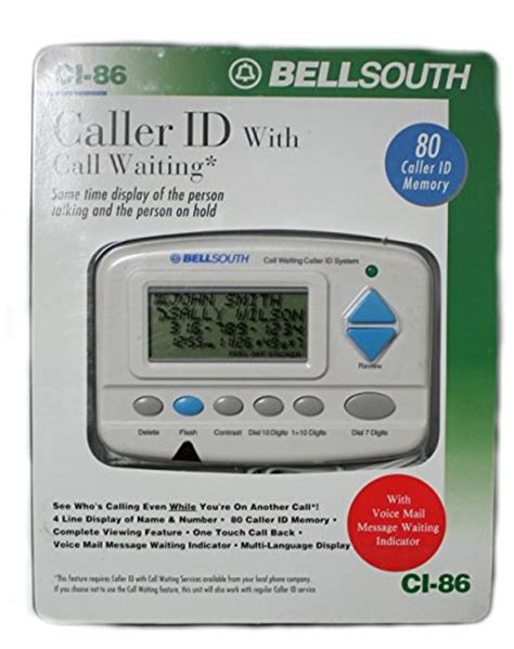 call back number no caller id bell south caller id name and number ci 86 electronics
