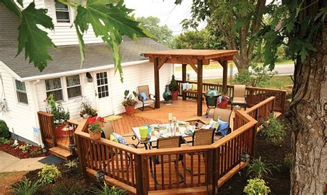 deck in the backyard pin by lisa stright on remodel pinterest wood decks