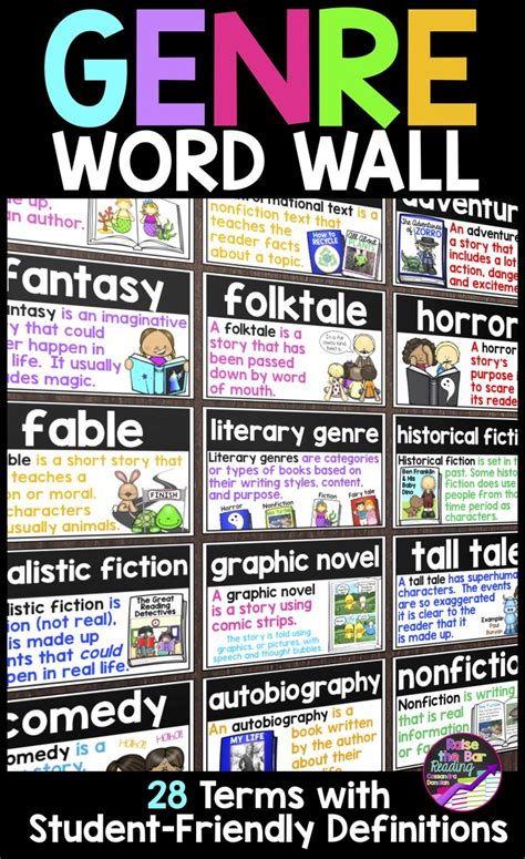 fantasy film genre history best 25 interactive word wall ideas on pinterest