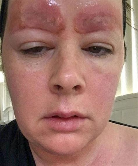 salon sues woman that revealed the awful eyebrow tattoo