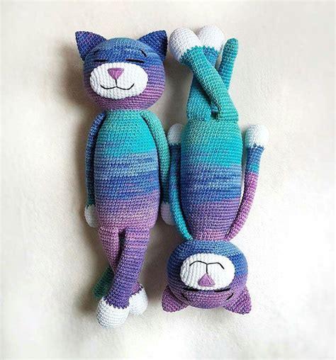 pattern cat crochet free large ami cat amigurumi pattern toys pinterest