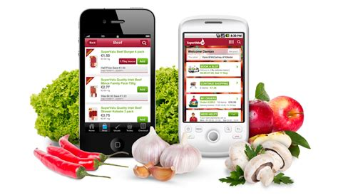 grocery shopping our app supervalu