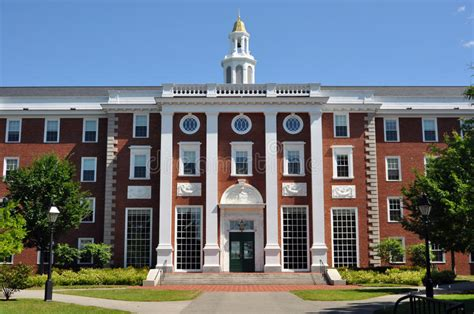 Harvard Business School Summer Mba by Harvard Business School Cus Boston Stock Photo