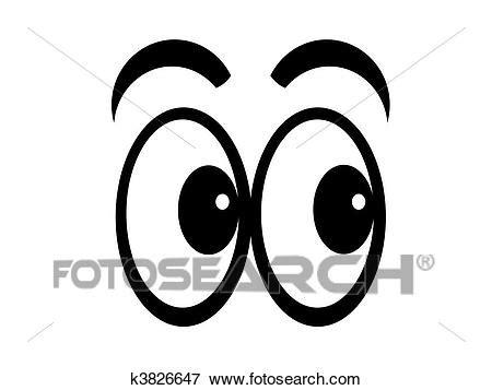 clipart occhi archivio illustrazioni cartone animato occhi k3826647