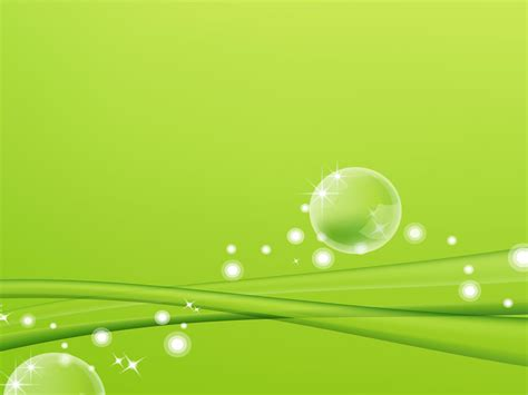 powerpoint templates green green ppt background image 9770