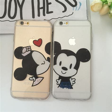 Casecassingcasing Soft Silicone Minnie Mouse For Iphone 6 Plus cover for iphone 6 plus soft silicone mickey