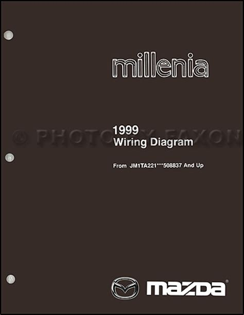 online car repair manuals free 1999 mazda millenia on board diagnostic system 1999 5 mazda millenia wiring diagram supplement original