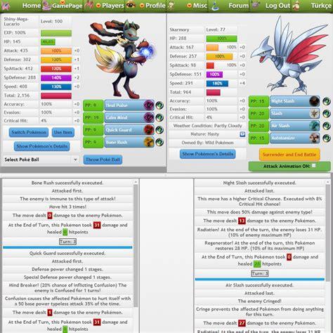 pokemon fan games online pokemon pets an online free mmo for pokemon fans