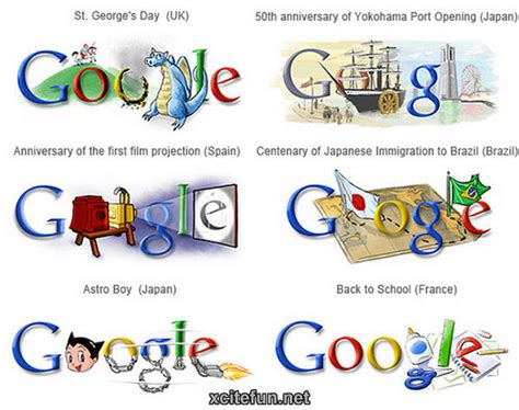 Google Images Is Different | google logos in different countries xcitefun net