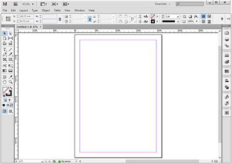 layout koran indesign margin and column pada adobe indesign