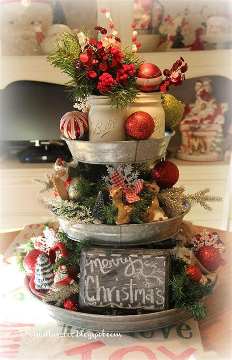 hometalk     galvanized tiered tray christmas
