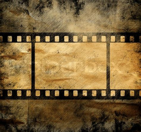 aged wallpaper with film strip border stock illustration vintage background with film frame stock photo colourbox