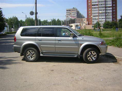 mitsubishi pajero 2000 2000 mitsubishi pajero sport pictures 2972cc gasoline