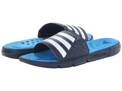 Adidas Climacool Running 3 lyst adidas climacool revo 3 slide in blue for