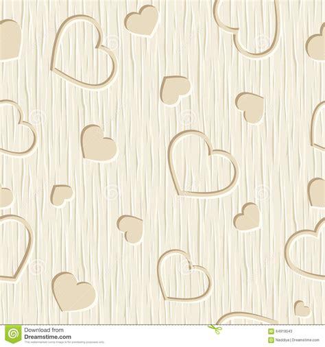 heart pattern wood seamless hearts 1 vector illustration cartoondealer com