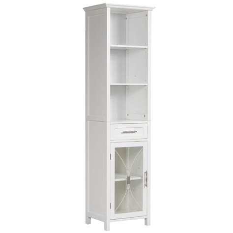 home depot bathroom storage cabinets elegant home fashions victorian 17 in w x 65 in h x 13 1
