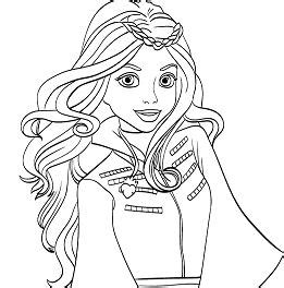 descendants coloring pages of evie coloring pages for kids and adults