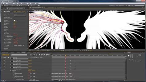 after effects tutorial create an advanced lightning effect after effects tutorial advanced 3d wings in after effects