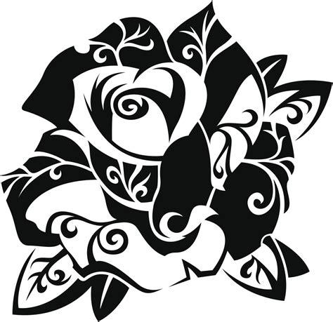 imagenes para dibujar tribales rosas para dibujar