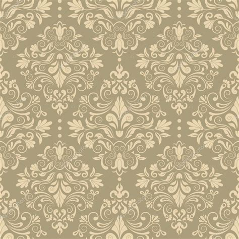 html seamless pattern vintage seamless pattern with victorian motif stock