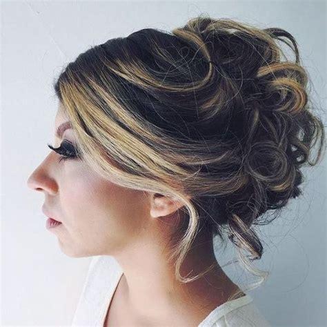 loose updo hairstyles for medium length hair 60 easy updos for medium length hair