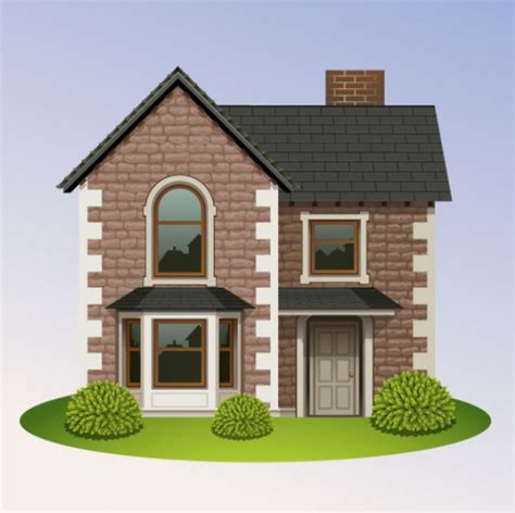 image of houses design brick house vector illustrations pixempire
