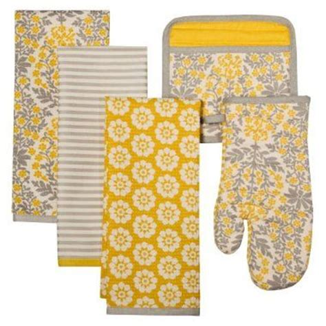yellow and gray kitchen accessories for the kitchen surface design and