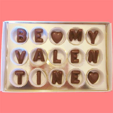 ideas for nice letter chocolate gifts idea for valentines day