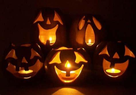 halloween pumpkin candle holder gadgetsin