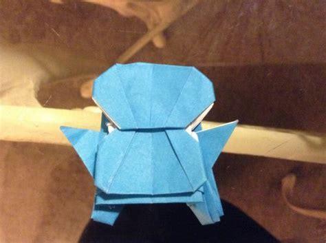 Squirtle Origami - sfkolas origami squirtle origami yoda