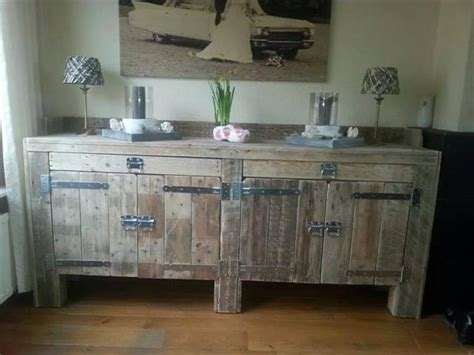 pallet kitchen furniture pallet idea